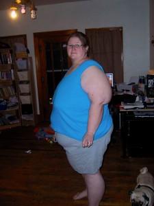 Around 400 pounds